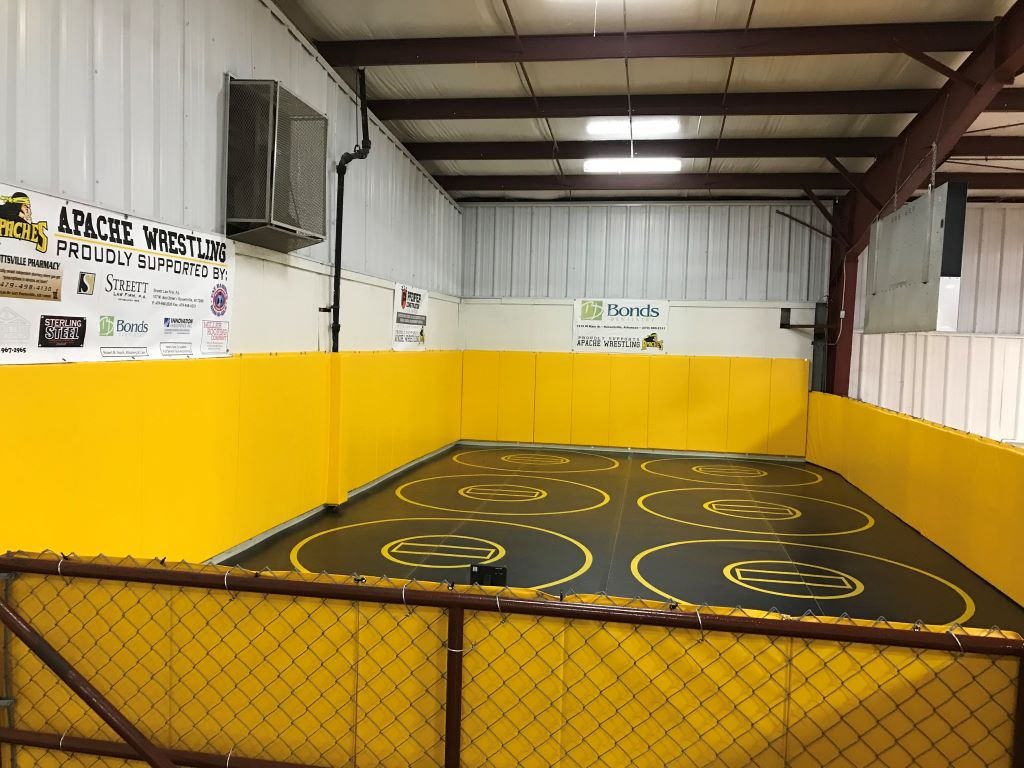wrestling club training center