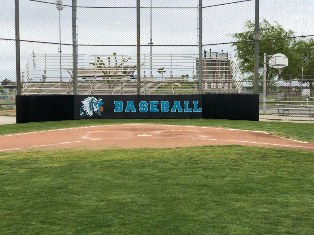 softball backstop pad
