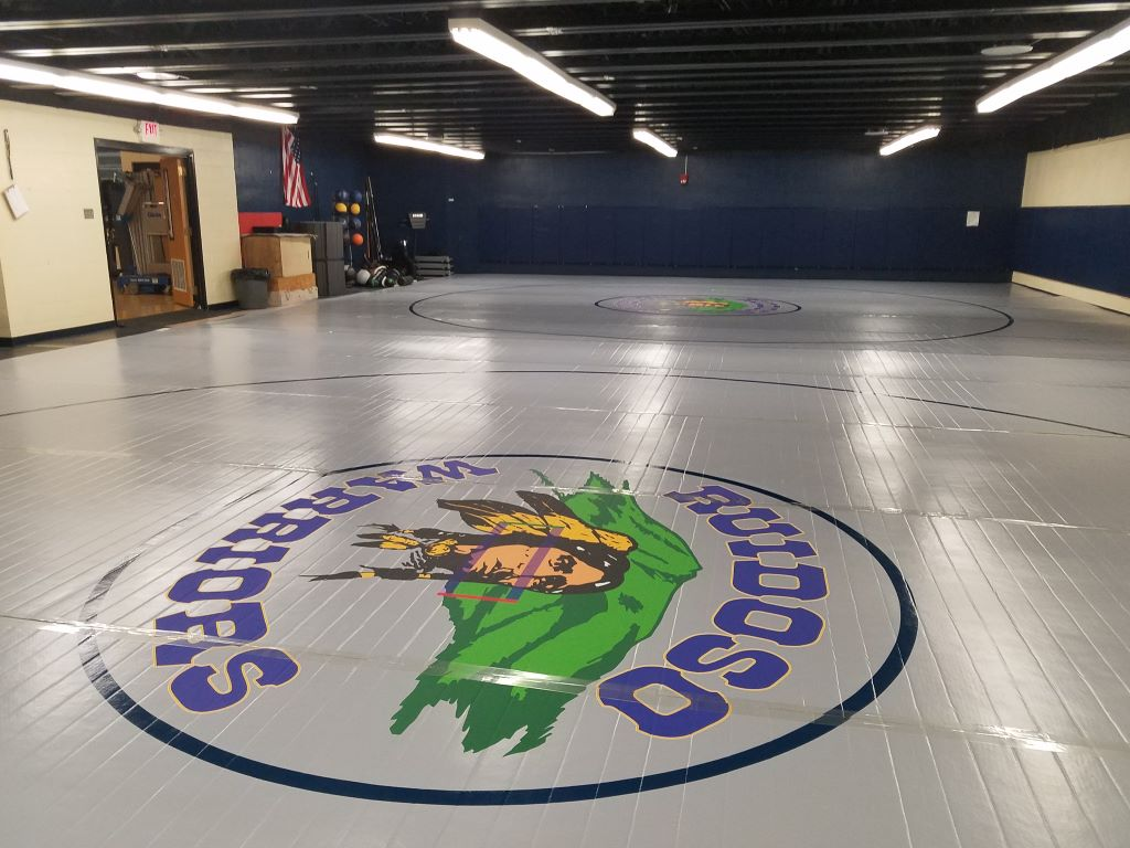 Competition Wrestling Mats - NCAA Approved