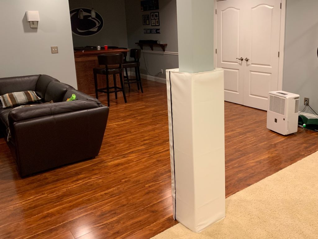 home basement playroom padding