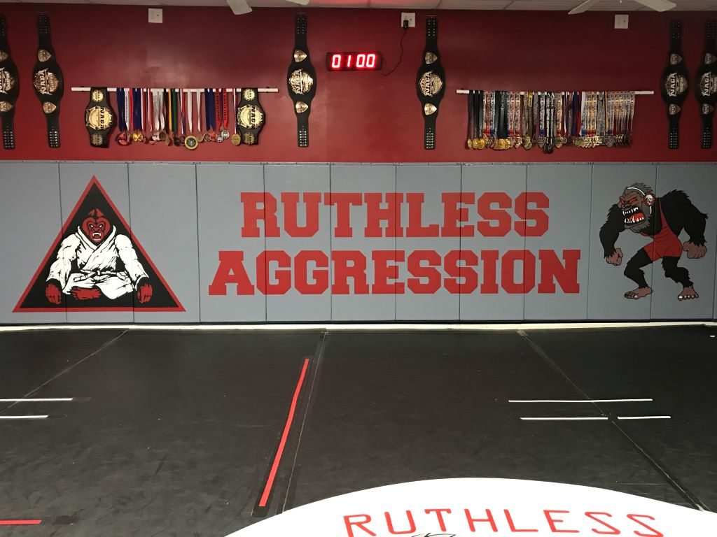Wrestling Club Wall Pads