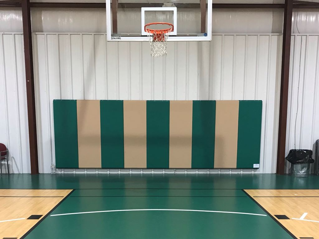 Basketball safety wall pads