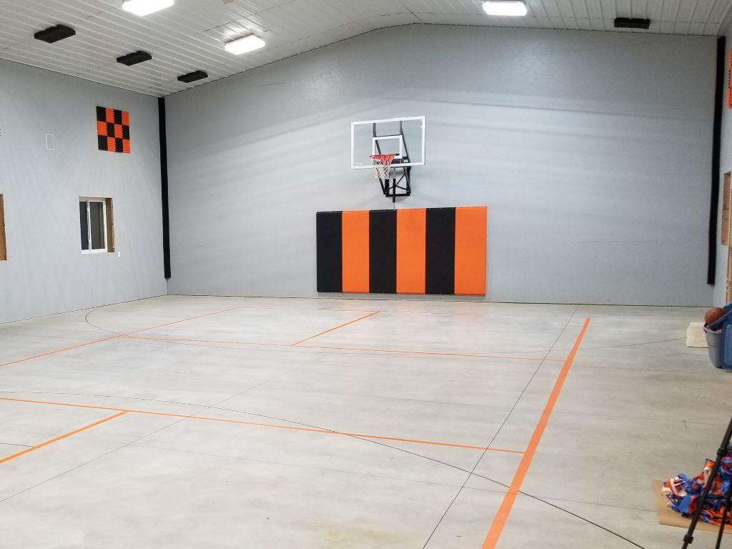 home basketball wall padding