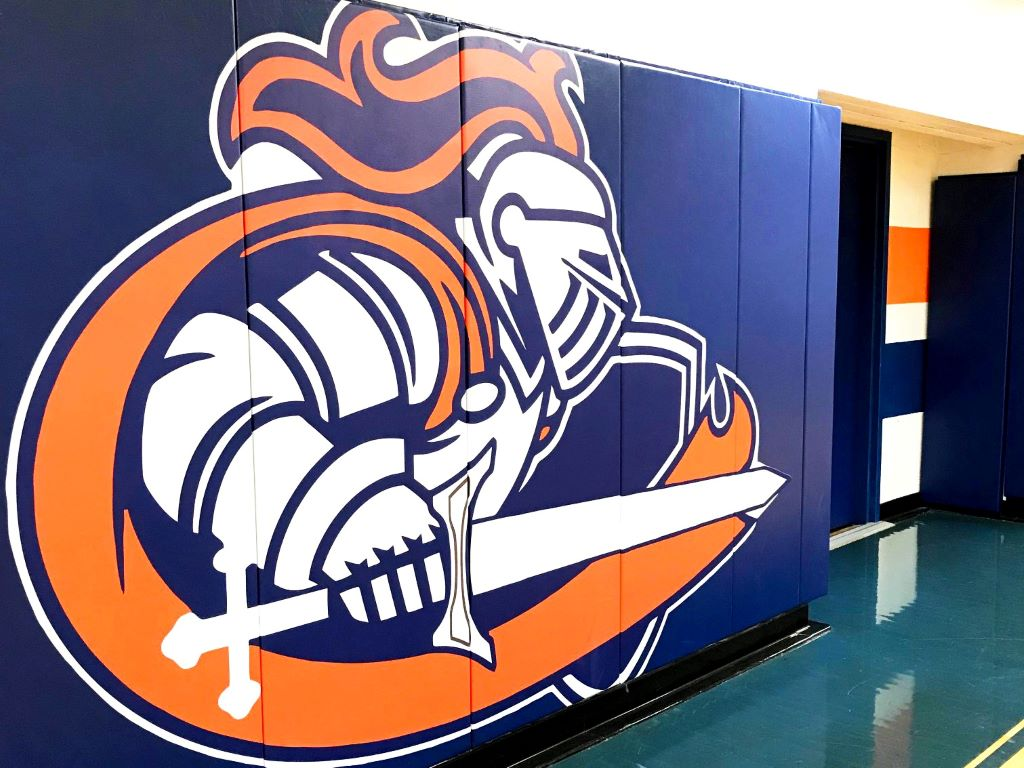 School Mascot Wall Pads