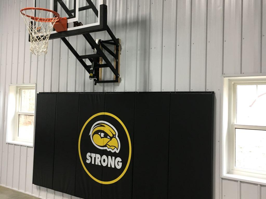 DIY Basketball pads