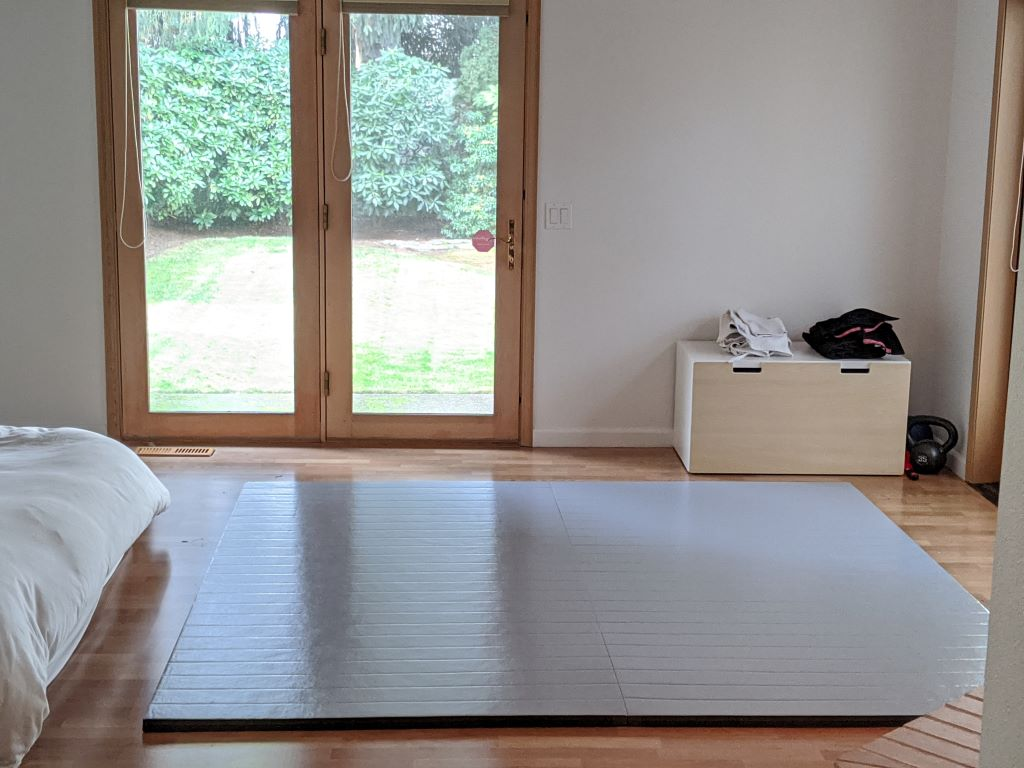 home martial arts room