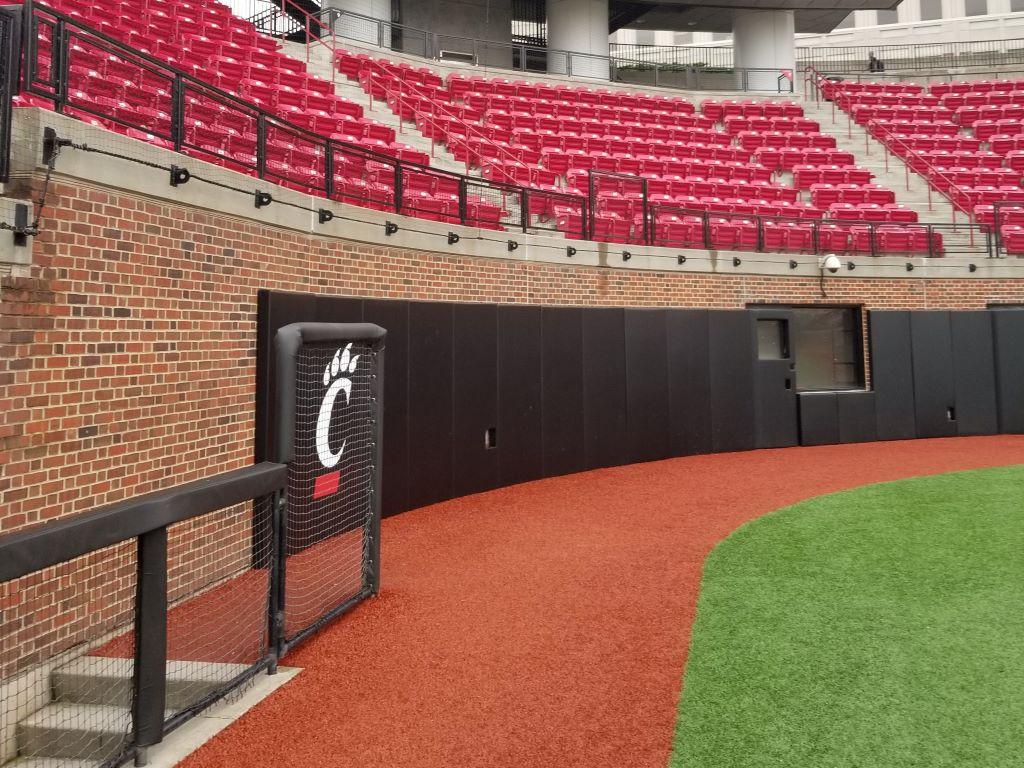 Baseball wall padding