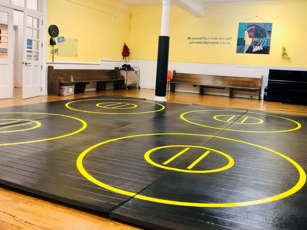 martial arts room