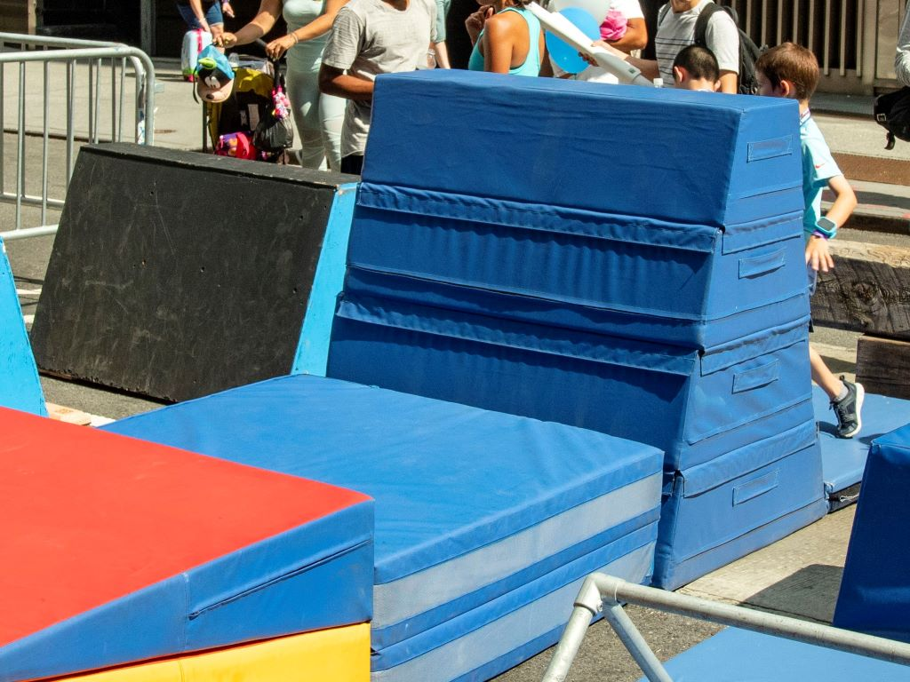 The Movement Creative photo of AK Athletics skill shape mats