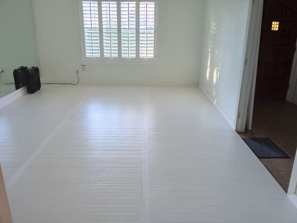 white home martial arts room