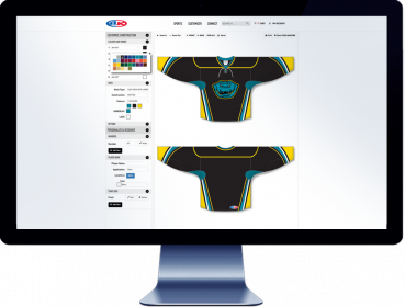 Customise online your hockey jerseys