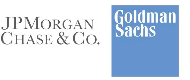 JP Morgan Chase and Goldman Sachs