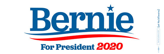 FREE Bernie for President 2020...