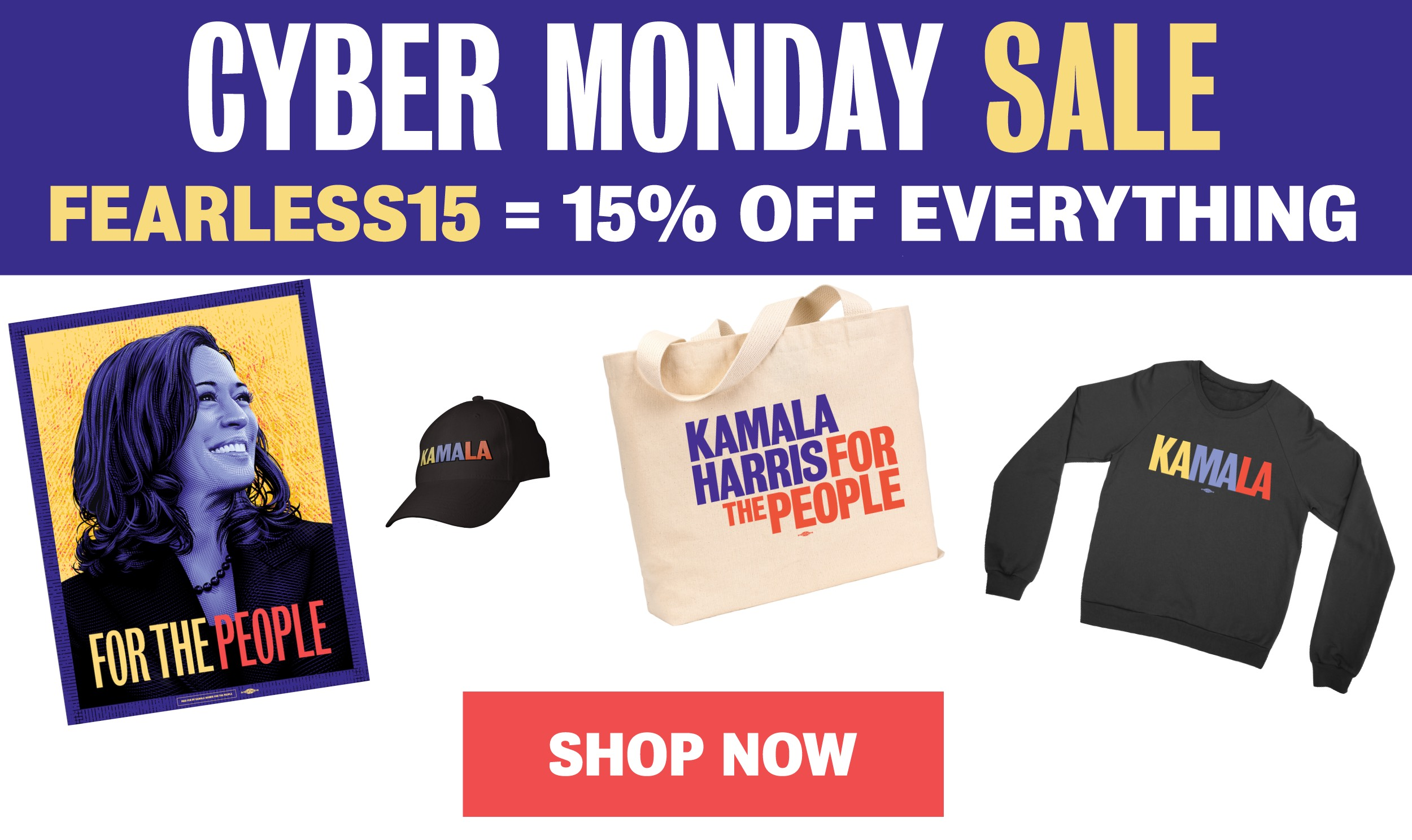 Cyber Monday Sale! Use the code FEARLESS15 to get 15% off everything. Shop now!