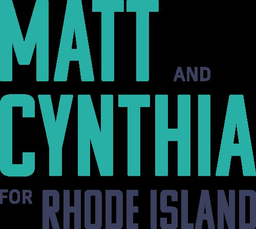 Matt and Cynthia for Rhode Island