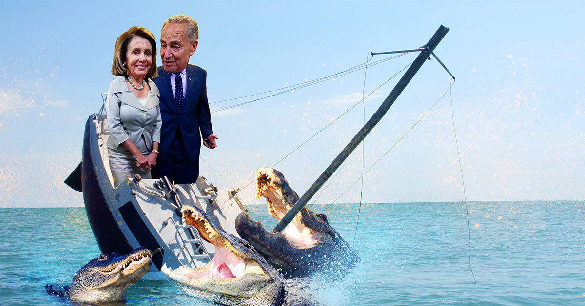 Pelosi and Schumer sinking ship
