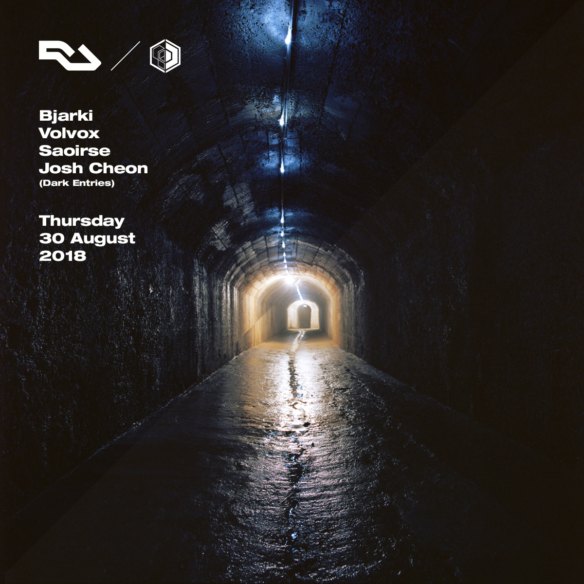 Zerostrasse : Resident Advisor x Dimensions Tunnel Party with Bjarki, Volvox, Saoirse and Josh Cheon
