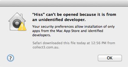 Software não autorizado