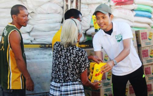 CDRC food aid