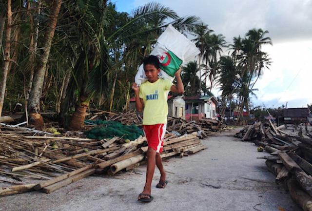 Damage in Samar