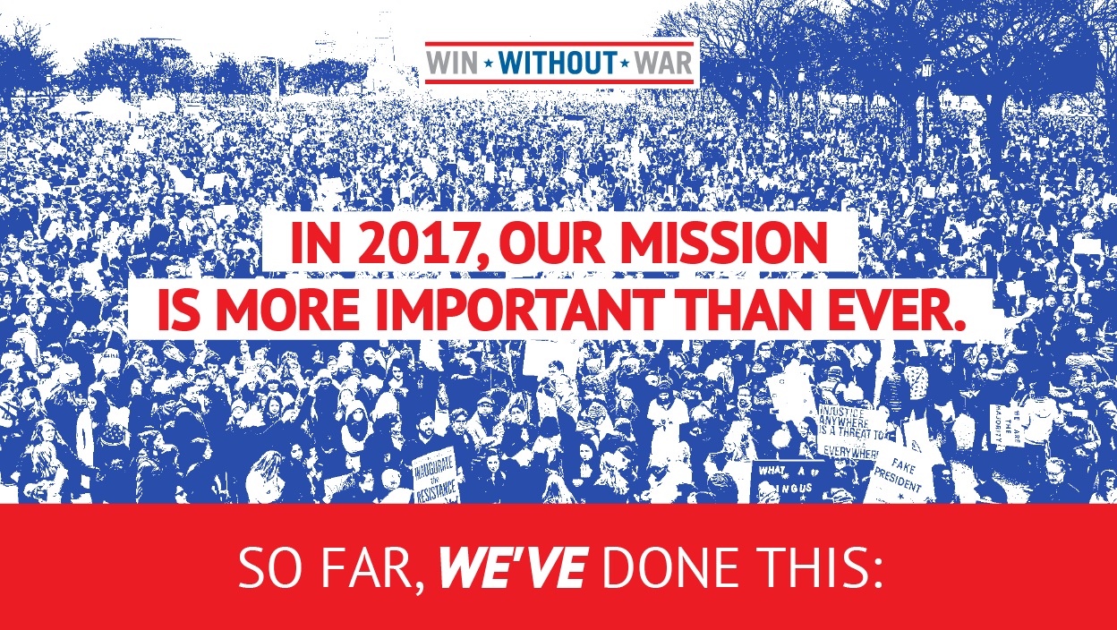 In 2017, our mission is more important than ever.