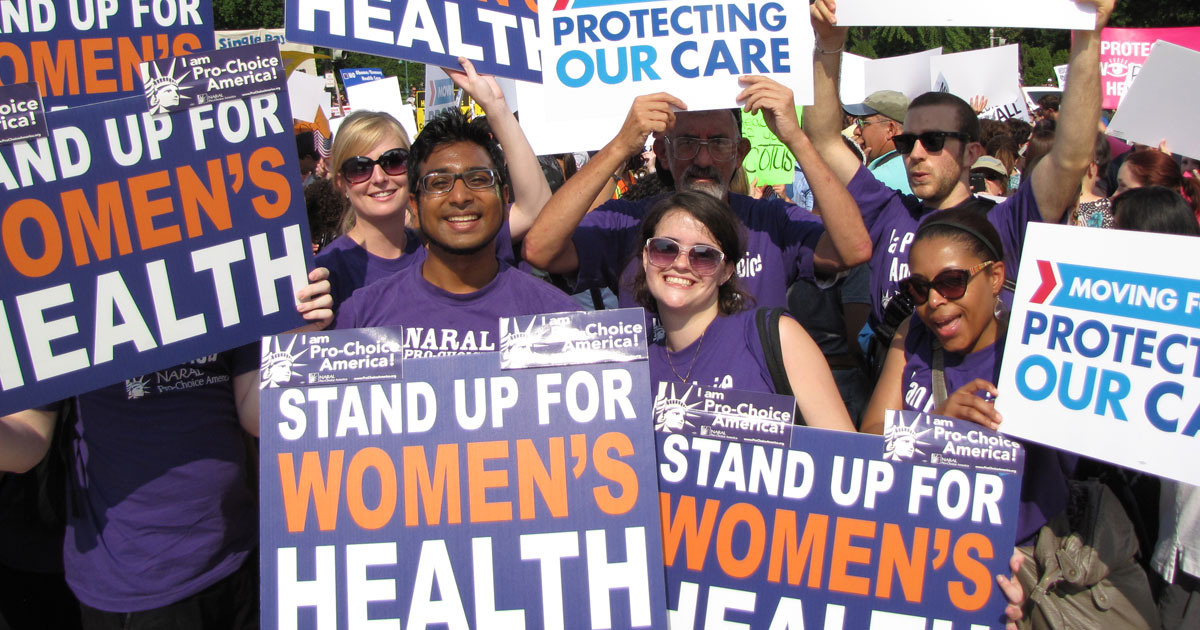 NARAL volunteers