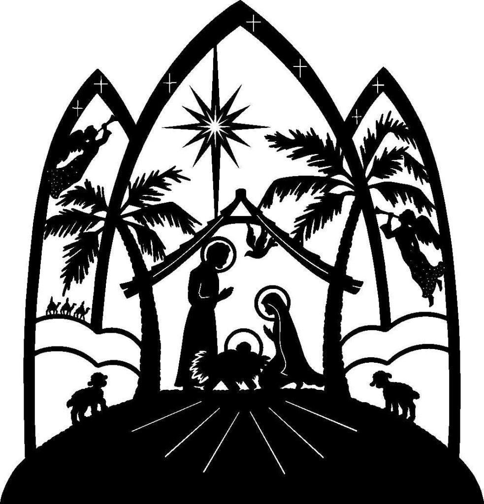 nativity scene clip art 7 akumalnow rh akumalnow com manger scene clip art black and white christmas manger scene clipart free