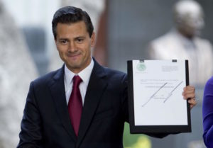 President Nieto (Photo by Eduardo Verdugo/AP)