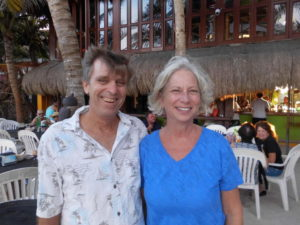 The Salty Snowbirds - Natalie & Dave @ Performing at LolHa in Akumal Centro