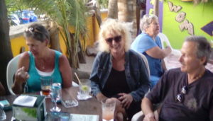 Natalie and Company @ The Snack Bar on the Akumal Bay beach next to Lol Ha.