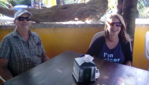 Natalie and Company @ The Snack Bar on the Akumal Bay beach next to Lol Ha.