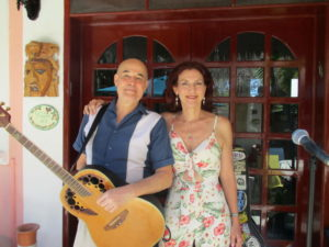The Salty Snowbirds - Natalie & Dave @ Performing at LolHa in Akumal Centro
