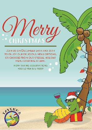Taverna Christmas Plans