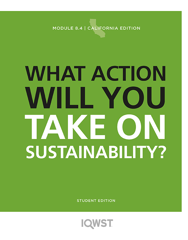 8.4 On What Issues of Sustainability Will You Take Action?