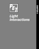 Chapter 6: Light Interactions