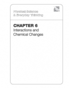 Chapter 6: Interactions and Chemical Changes