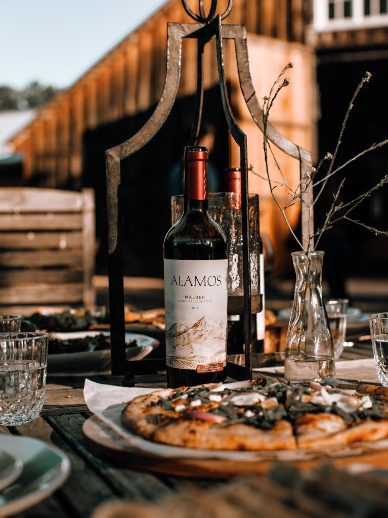 Argentina's Renowned Wine Region Bottle Shot