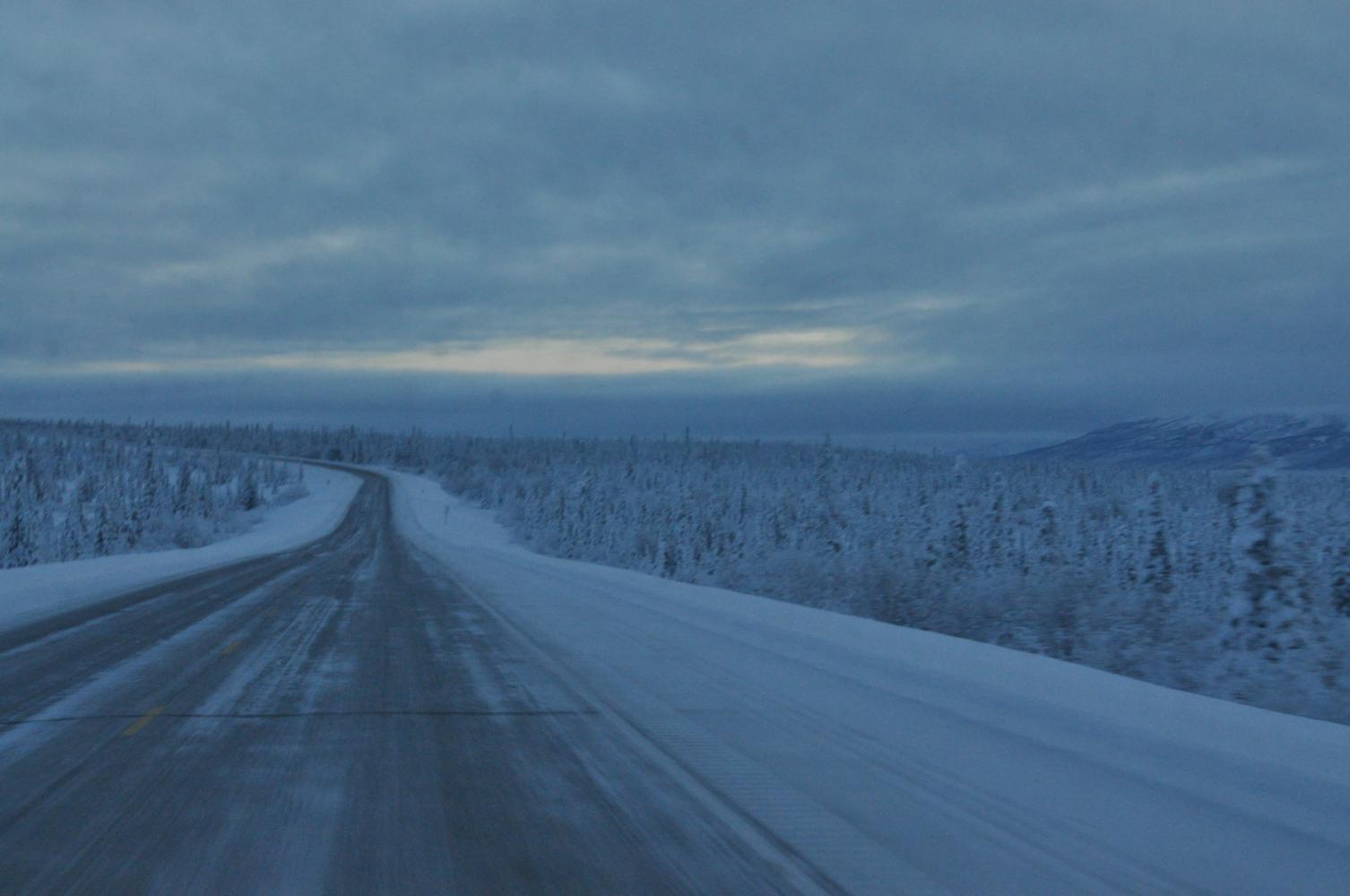 Driving To Valdez