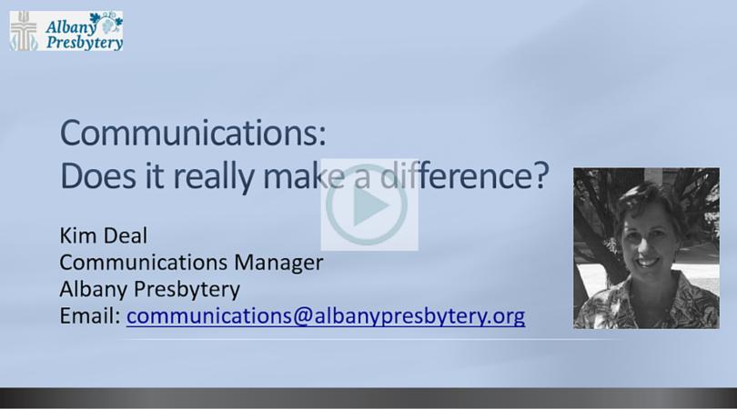 Title Slide Communications Overview Jan 2016 Video Slide
