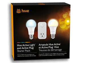 Get a Hive Active Light™ and Starter Pack with the Bright & Brilliant plan