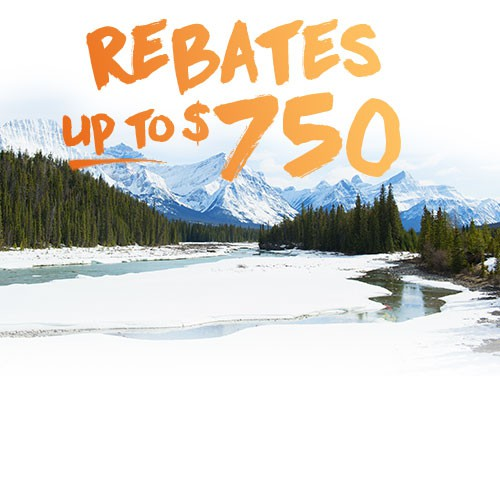 Get a Rebate of up to $750
