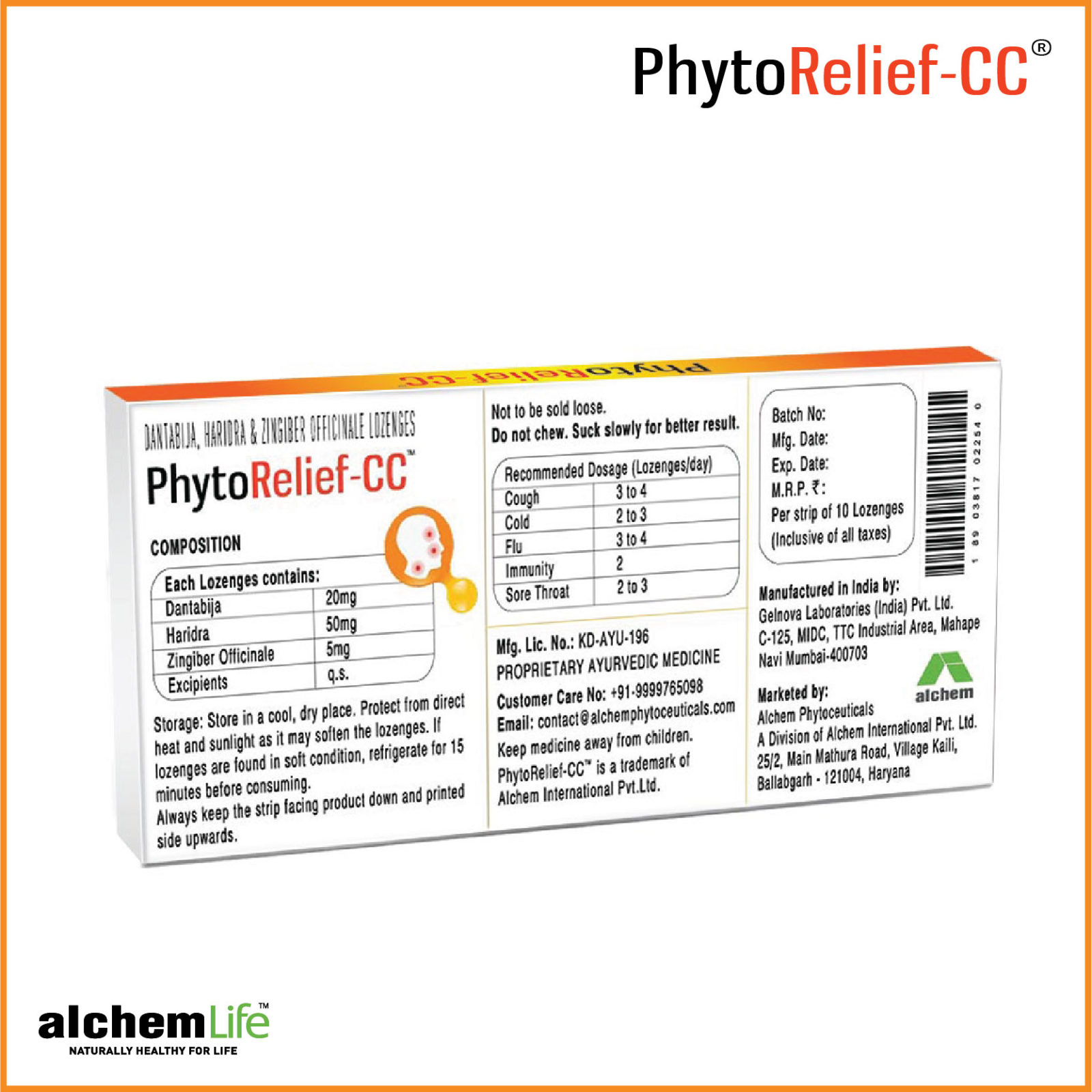 Phytorelief-CC<sup>®</sup>
