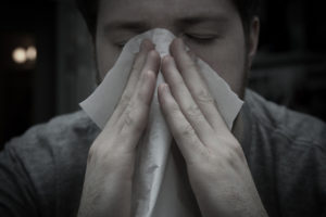 sneezing - causes of allergy wheezing