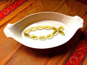 Fish Oil capsule for Stiffness