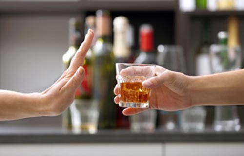 Dehydrating Effect of Alcohol
