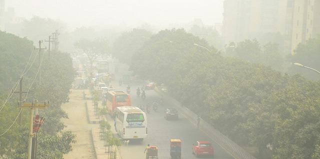 Black carbon air pollution is five times higher in Delhi than America, Europe