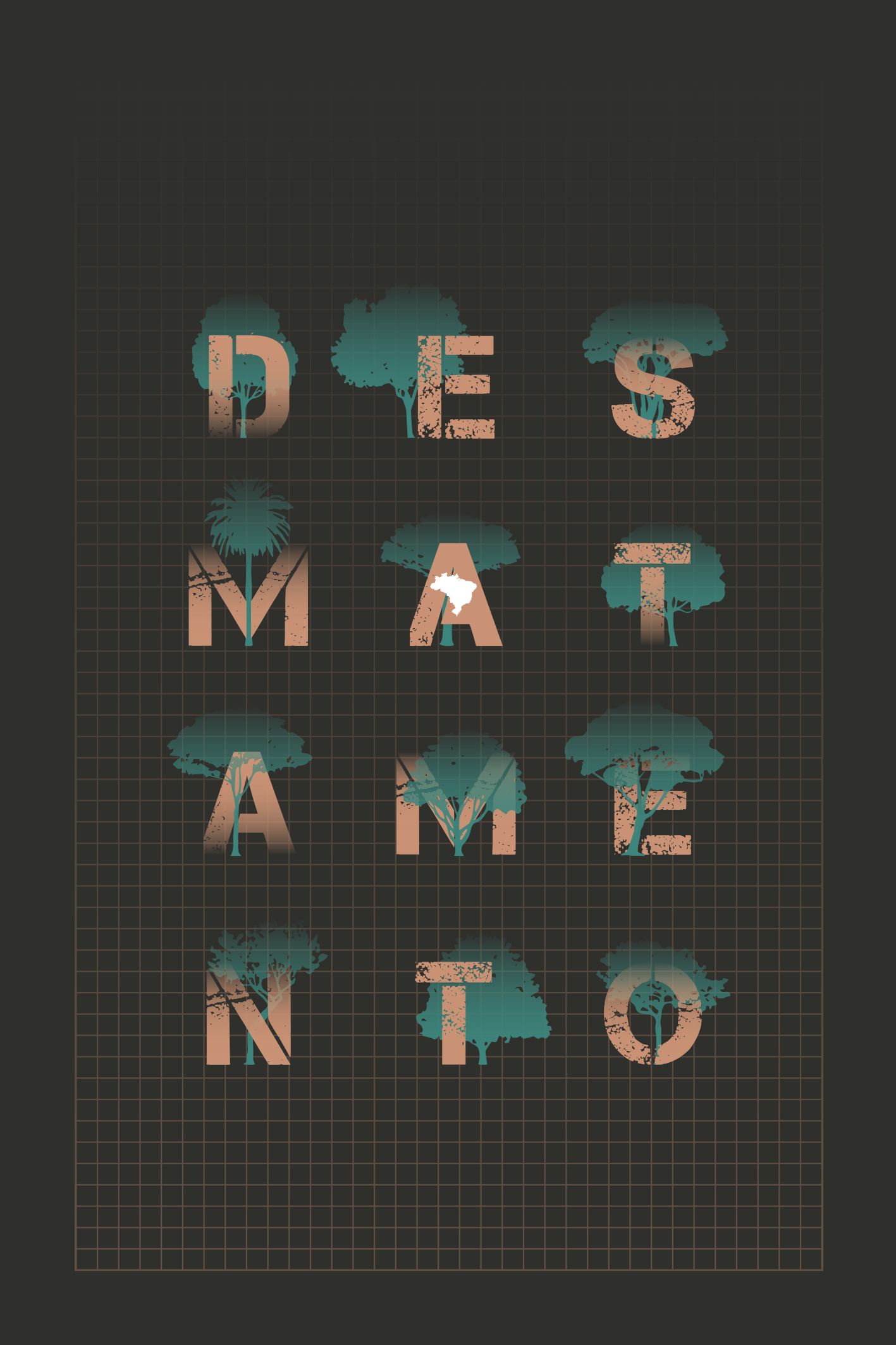 Capa do Relatório Anual do Desmatamento no Brasil