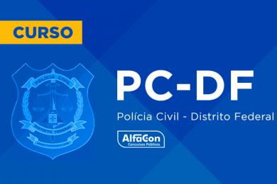 PC DF – Polícia Civil do Distrito Federal