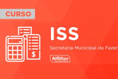 ISS – Secretaria Municipal de Fazenda
