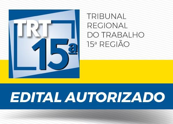 Concurso TRT 15